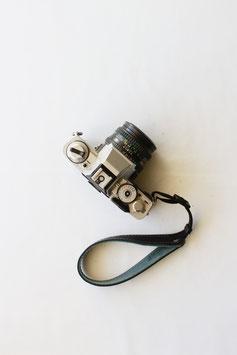 Camera wrist strap black/green