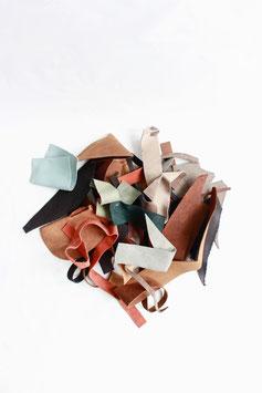 Leather scraps S