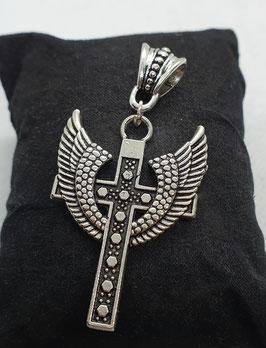 """Anhänger """"Kreuz mit Flügeln"""""""
