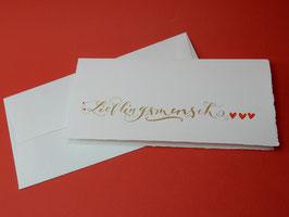 """Karte """"Lieblingsmensch"""""""