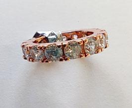Schmuckring für Federhalter 2 in 1 - Silver oder Rose gold