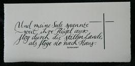 Trauer- / Kondolenzkarte Eichendorff