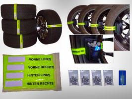 Reifenmarkierungsbänder BF + Radschraubentaschen