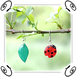 Boucles d'oreilles un Air de Printemps