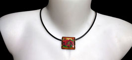 Collier Tableau Coquelicot