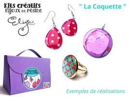 """Kit créatif """"La Coquette"""""""