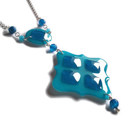 Collier Deep blue
