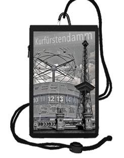 """Smartphonetasche""""Berlin Funkturm"""" schwarz"""