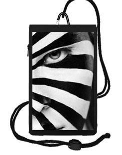 "Smartphone Tasche""Zebra"""