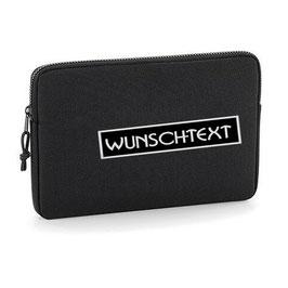 """Laptop sleeve """"Wunschtext"""""""