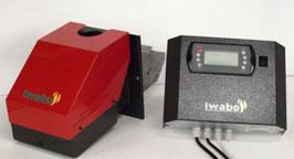 Iwabo Pelletbrenner S30 ist jetzt neu mit neuer Fozzy Logic Reglung