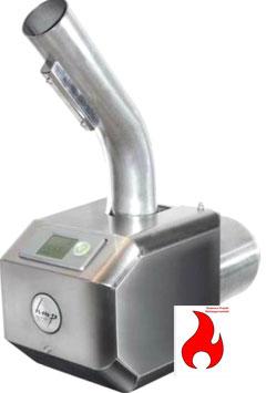 PX22 Pelletbrenner mit neuer Steuerung mit Stokerkontrol Interface