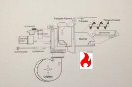 Scotte NBE BMHT OPOP Kondensator für Schneckenmotor intern und extern