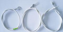 Iwabo Wärmekabelsatz für Glühspirale alle Iwabo Villa Brenner S, S1, S1X, S2, 30KW und 48KW Pelletbrenner