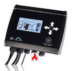 Scotte NEUE NBE BMHT OPOP Steuergerät V7 mit Interface Stokercloud mit Brennerplatine für alle Pelletbrenner zum umrüsten.