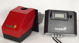 Iwabo Pelletbrenner S20 ist jetzt neu mit neuer Fozzy Logic Reglung