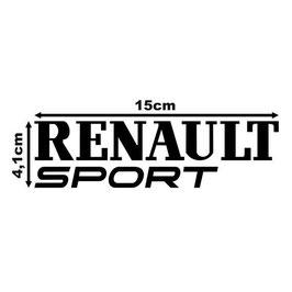 PEGATINA RENAULT SPORT MODERNO
