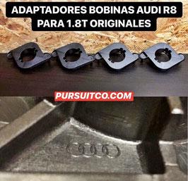 4X ADAPTADORES BOBINAS R8 PARA 1.8T