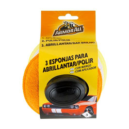 KIT 3 PULIDORES CON MANGO ARMOR ALL AA40091SPI