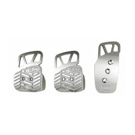 SET 3 RACING PEDALES PLATA OMPOA/1067/A