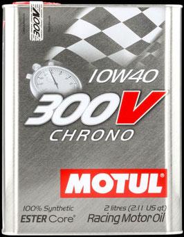 MOTUL 300V 10W40  (FORMATO 2 LITROS)