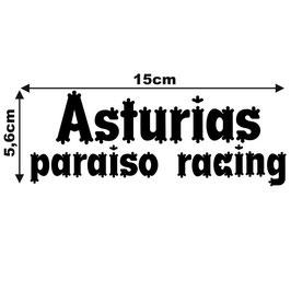 PEGATINA ASTURIAS PARAISO RACING