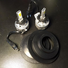 KIT COCHE 2 BOMBILLAS LED ALTA POTENCIA EASY INSTALL.