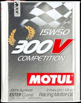 MOTUL 300V 15W50  (FORMATO 2 Y 5  LITROS)