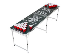 Beer Pong Tisch Chalk ©