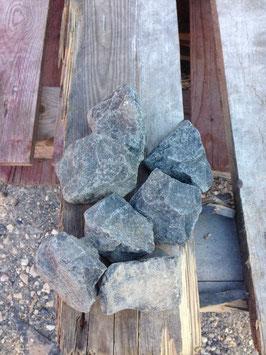 Schotter Basalt schwarz