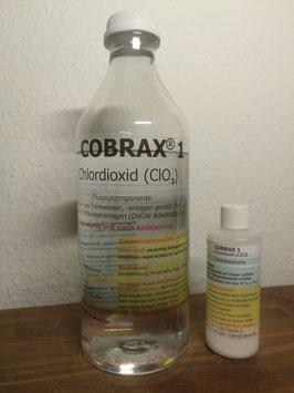 COBRAX® 1 (Set 1 kg zur Herstellung von ca. 1 kg Chlordioxidlösung)