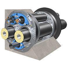 Quadro-Secura® Nova 1-FW 2 x 75, 90, 110