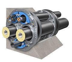 Quadro-Secura® Nova 2-FW 2 x 75, 90, 110