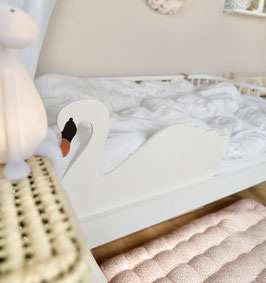 Rausfallschutz Schwan / bedrail swan