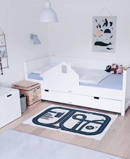 Rausfallschutz Haus (weiß) / bedrail house (white)