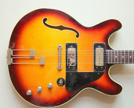 1960's Klira Ultra Thinline Hollowbody (Gibson ES335 model)