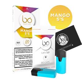 Bo Cap's   Mango 5's