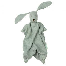 doudou Tino le lapin bio tetra vert, Hoppa