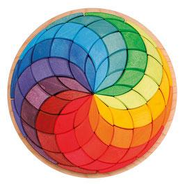 mandala spirale colorée, Grimm's