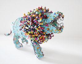 Perlentier-Löwe
