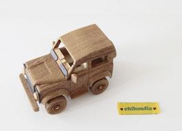 Holz-Auto Jeep