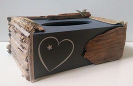 Schwemmholz- Kosmetiktücherbox