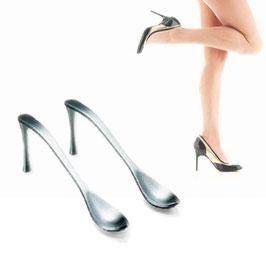 Cuillères en forme de chaussures à talons