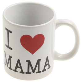 """Tasse """"I LOVE MAMA"""""""