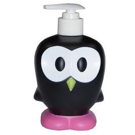 Distributeur de savon Chouette Noir