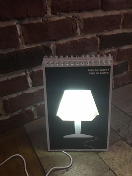 La lampe Page by page