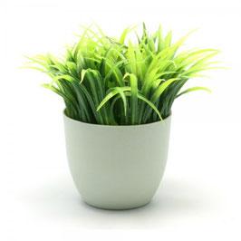 Pot à crayons herbe