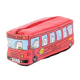 Trousse d'école Bus Rouge