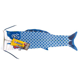 Koinobori travel laundry bag bleue