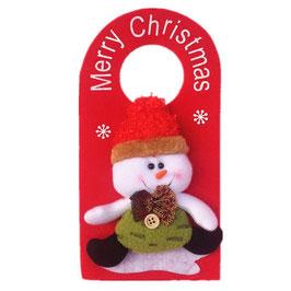 Décorations de Noël pour porte